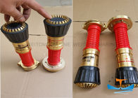Aluminum Marine Fire Fighting Equipment Hose Nozzle With High Durability