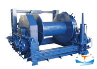 CCS Certificated Hydraulic Tugger Winch 10t-80t Pull Capacity Marine Steel Material