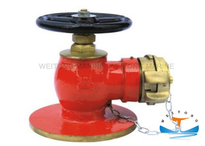 90° Flanged Fire Hydrant for Ship Fire Fighting