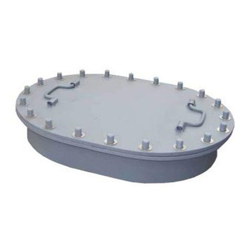 Fire - Proof Square Marine Manhole Cover , Type B Manhole With Coaming