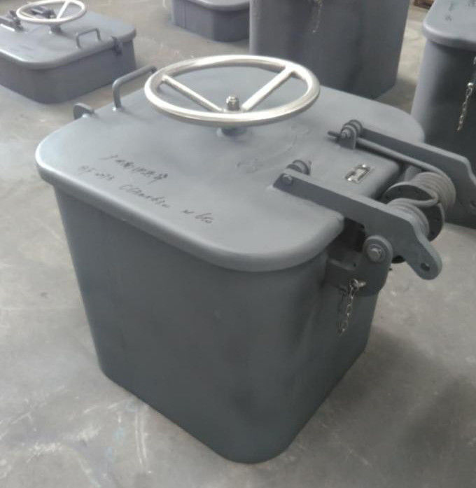 Quick Open Marine Hatch Cover 0.2Mpa Pressure With Central Clip Device