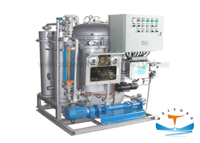 LCD Display Oily Bilge Water Separator With Fiber Filter And Membrane Permeation